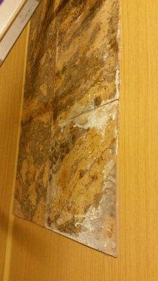 used cork tiles